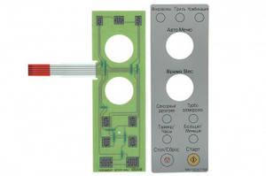 Сенсорная панель для СВЧ печи NN-GD577M Panasonic F630Y8B80SZP