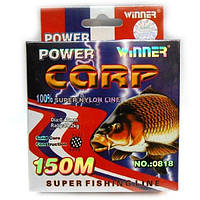 Леска WINNER Power Carp 150m 0.40