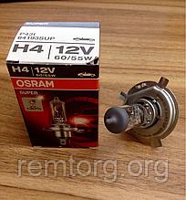 Автомобільна лампа Osram Super H4 12V 60/55W