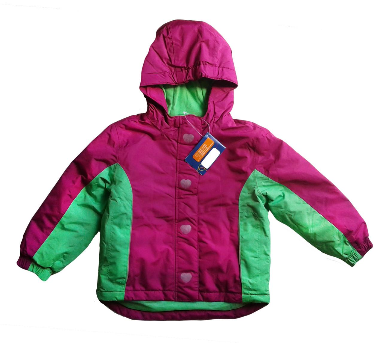 Куртка  для девочки, Lupilu, размер 98/104, арт. Л-425