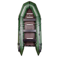 Лодка Барк BT-420S Восьмиместная моторная, килевая со сплошным разборным настилом, комплект