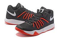 Баскетбольные кроссовки KD TREY 5 V EP  black-red