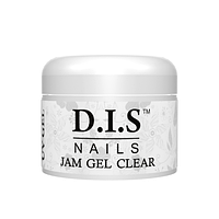Гель моделирующий D.I.S Nails JAM GEL CLEAR 30 гр (джем)