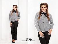 Рубашка женская с брюками батал 7- 7008-7006, фото 1