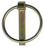 DIN 11023 Шплінт Ø10х40 оцс кільцем Ø10, фото 2