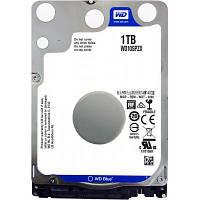 """Жесткий диск 2,5"""" 1Tb WD SATA III 5400 128Mb Blue (WD10SPZX)"""