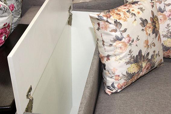 диван с нишей для белья от торгового дома Naomi