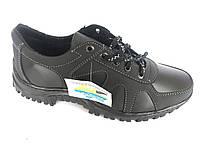Туфли спортивный на шнурках мужские черный Perfect - T-16