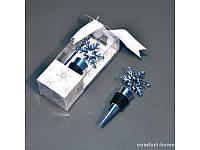 """Стопер для вина """"снежинка"""" EZ-9015"""
