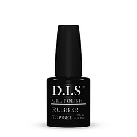 Верхнее покрытие для гель-лака D.I.S. nail RUBBER Top gel 7.5ml