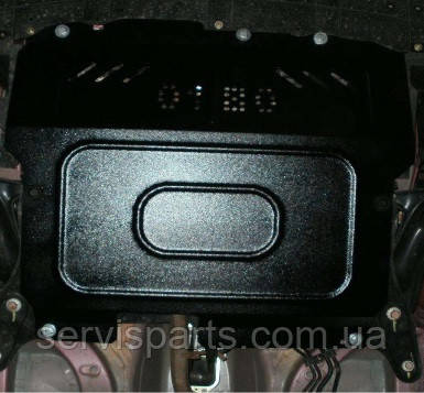 Защита двигателя Peugeot 107 2005-  (Пежо 107)