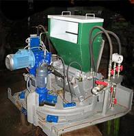 Автоматизированный загрузчик шихты плунжерного типа АЗШ-СТ  для тонкослойной загрузки стекловаренных печей