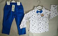 Нарядный детский костюм с бабочкой для мальчиков 2-5 лет Турция
