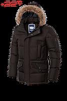 """Куртка мужская зимняя Braggart """"Dress Code"""" (шоколадная)"""