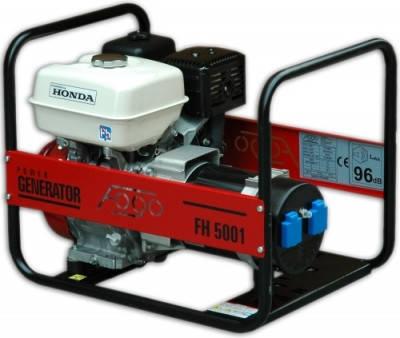 Генератор бензиновый FOGO FH 5001  (5кВт), фото 2
