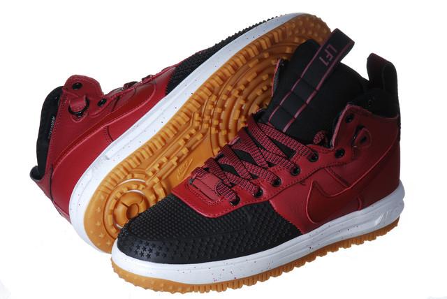 Кроссовки мужские Nike Lunar Force Duckboot красные