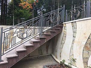 Кованые ворота, ограждения, перила, лестницы 15
