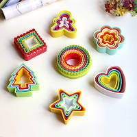 Набор форм для печенья и пряников  разные 5 шт.