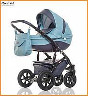 Детская коляска 2 в 1 Broco Eco 04
