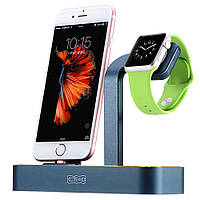Док-станция для iPhone  Apple Watch - COTEetCI Base5 чёрная