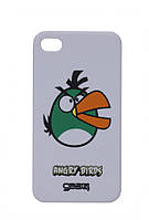 Чехол для iPhone 4 — Angry Birds Белый