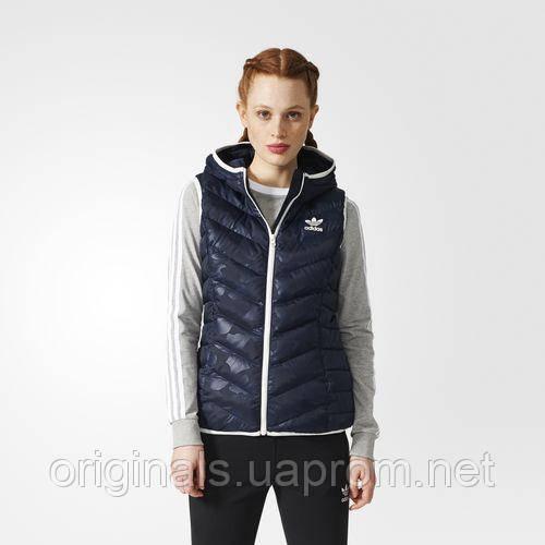 Женский утепленный жилет Adidas Slim Vest BQ7494 - 2017/2 - интернет-магазин Originals - Оригинальный Адидас, Рибок в Киеве