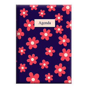 "Щоденник недатований А5 BRUNNEN Агенда Графо ""Pink flowers"", фото 2"