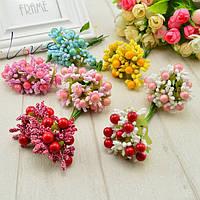 Цветы, листья, тычинки