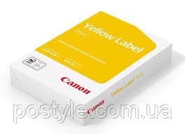 Бумага офисная Canon Yellow Label Print А4 80 г/м2 класс С 500 листов Белая