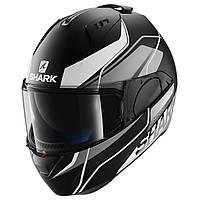 Мотошлем SHARK Evo-One Krono черный серый белый мат L