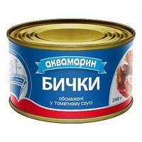 "Бички в том.соусі ""Аквамарин"" 240г (1/36)"