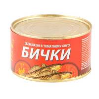 """Бички в том.соусі """"Знатна рибка"""" 240г (1/48)"""