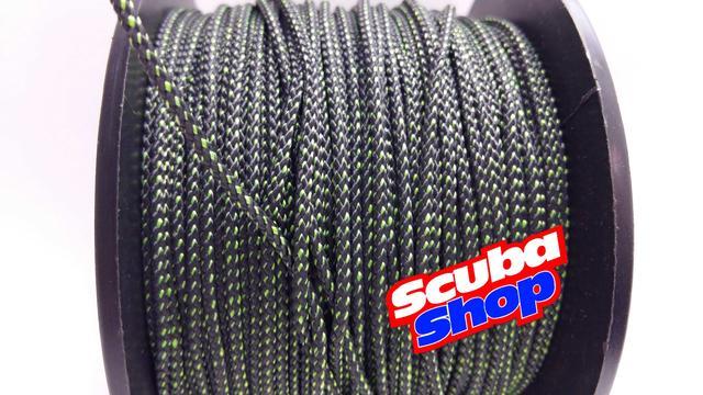 Линь Salvimar POLYESTER 1.7 мм зеленый (усилие на разрыв 90 кг)