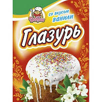 """Глазур ванільна біла """"Добрик"""" 75г (1/70) ГАРНА ЦІНА"""