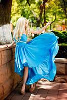 Летнее шифоновое женское платье