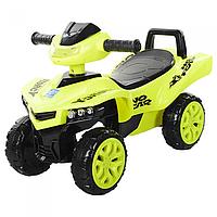 Детская каталка-толокар Квадроцикл M 3502-6,свет,мкзыка