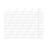 """Зошит """"Бріск"""" 12 арк. у косу лінію в асортименті (1/25)"""