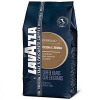 "Кава ""Lavazza"" зерно Crema e Aroma Esspresso 1кг СИНЯ (80% арабіка, 20% робуста) (1/6)"