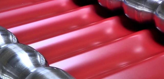 Технология производства металлочерепицы