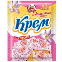 """Крем для торта ванільний смак 50г """"Добрик"""" (1*10/70)"""