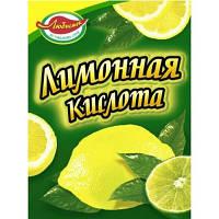"""Лимонна кислота """"Любисток/Добрик"""" 20г (1*20/160)"""