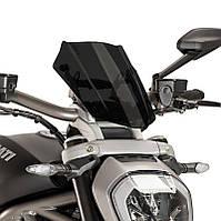 """Ветровое стекло Puig New Generation Sport X Diavel """"16 глубокая тонировка"""