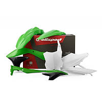 Пластик Polisport MX Complete Kit for Kawasaki KX250F; KX450F [Green]