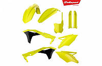 Пластик Polisport MX Complete Kit for Kawasaki KX250F; KX450F [Flo Yellow]