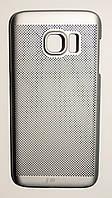 Чехол на Самсунг Galaxy S7 G930F Soft Touch Loopee Серебро, фото 1