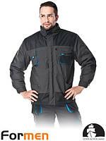 Куртка мужская утепленная рабочая FORMEN Lebber&Hollman Польша (спецодежда зимняя) LH-FMNW-J SBN