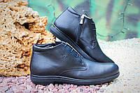 Стильные Мужские ботинки Gartiero натур кожа, овчина, фото 1