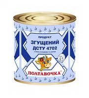 """Продукт згущений 8,5% """"Полтавочка"""" ж/б 370г (1/45)"""