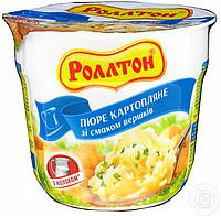 "Пюре картопляне стакан 40г Вершки ""Роллтон"" (1/24)"