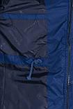 Чоловіча демісезонна куртка, синього кольору, фото 7